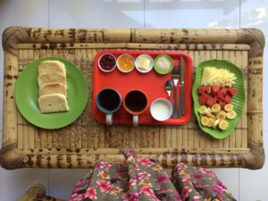 breakfast on Gili islands