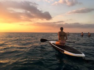 try Stand up Paddle on Gili islands