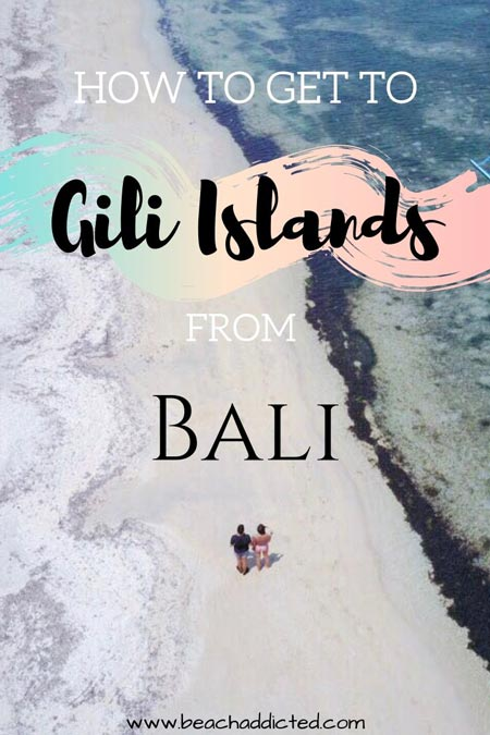 How to get to Gili islands from Bali