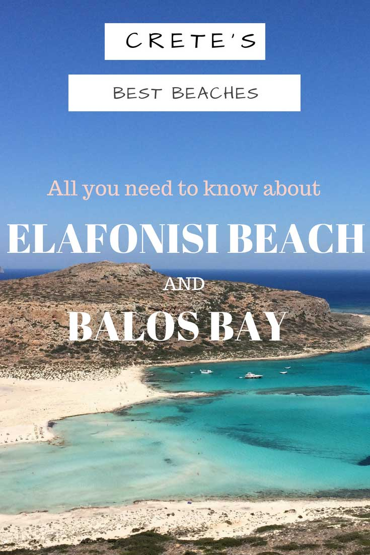Discover the best beaches Elafonisi beach and Balos Bay which you have to see when visiting Crete. Find our how to get to Elafonisi beach and Balos Bay. #cretegreece#cretechania#cretebeaches#elafonisibeach#elafonisicrete#balosbaycrete#balosbaygreece