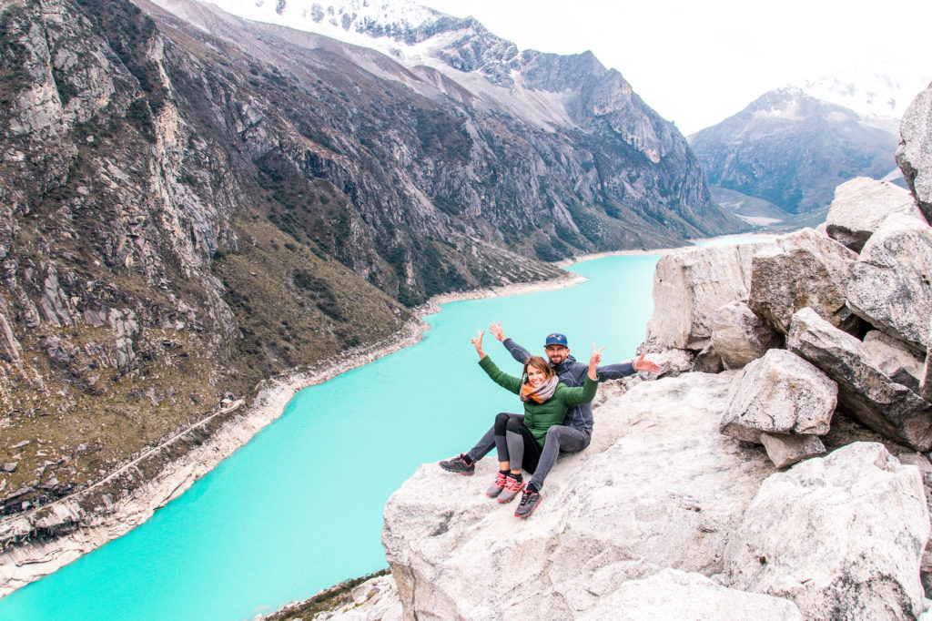 Laguna Paron must be in your 4 weeks Peru itinerary