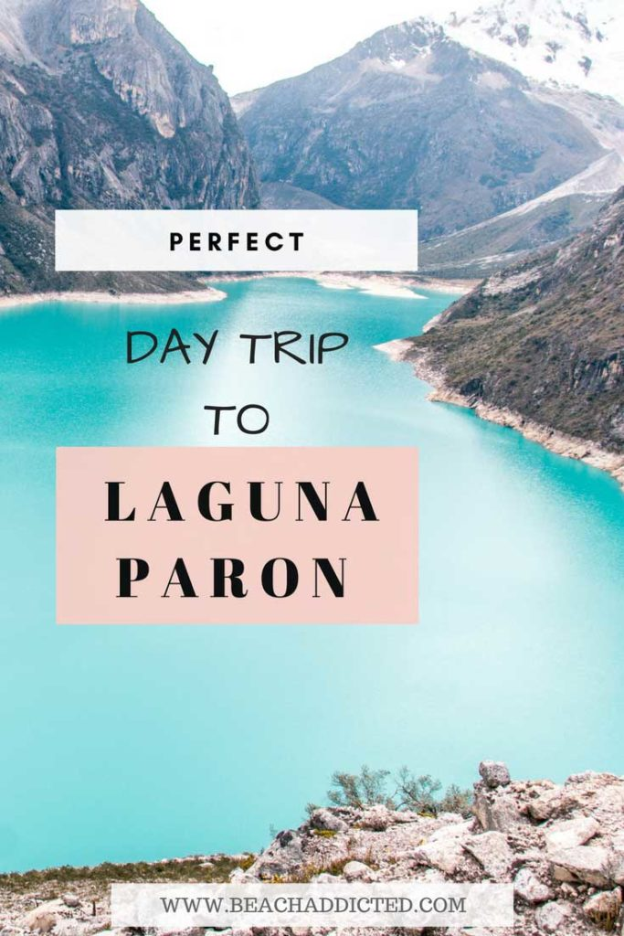 Visit the most beautiful lagoon in Peru, Laguna Paron. Laguna Paron is a perfect day trip. In this article you can find our all you need to know about visiting Laguna Paron, one of the most beautiful lakes we have ever seen. Find out how to get to Laguna Paron, what to do there, how to fight the altitude sickness #lagunaparon#southamerica#peru#hiking#nationalparks