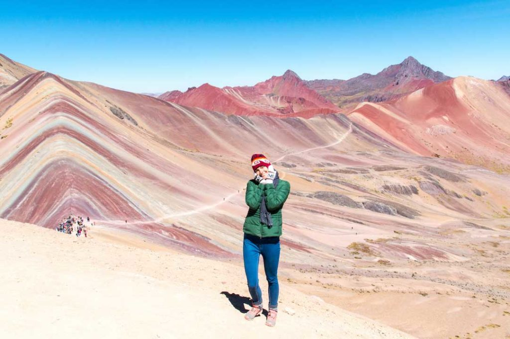 Rainbow mountain a must vist on every peru itinerary