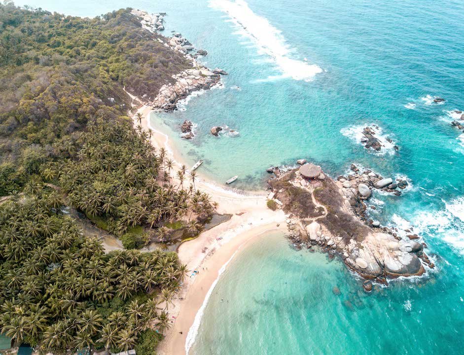 The best beaches in Colombia TYRONA PARK #thebestbeachesincolombia#colombia#colombiabeaches#colombiatravel#thebestbeachesintheworld#colombiabeachesislands#colombiaislands