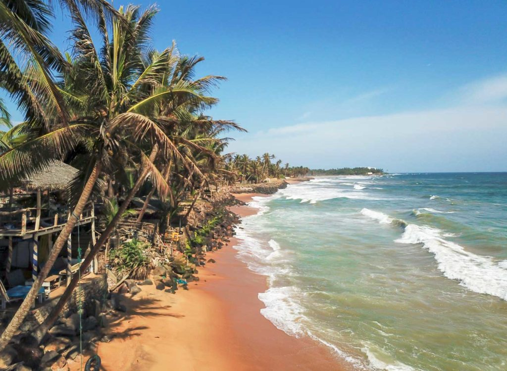 best beach holidays, Sri Lanka