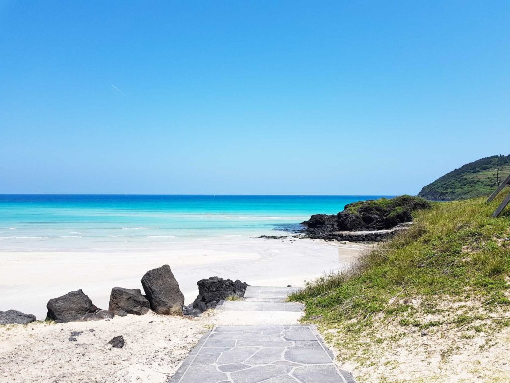 best beach holidays, Jeju island