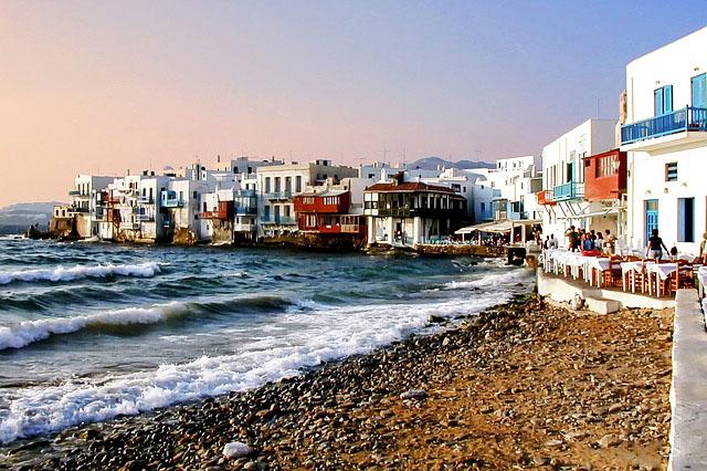 beach vacations. Mykonos