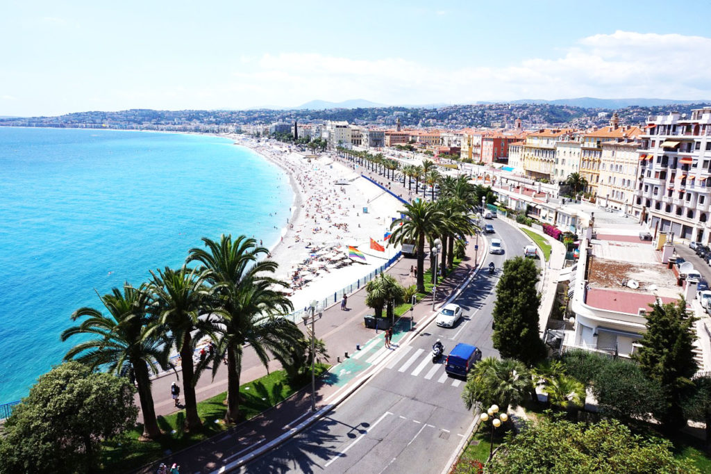 Nice, France, beaches and holidays