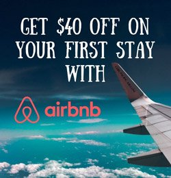 AIRBNB, BOOK YOUR FIRST NIGHT AND GET $40 OFF