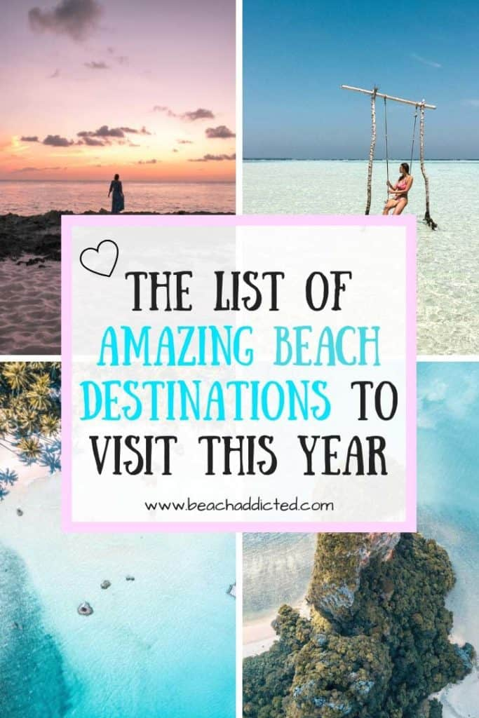 THE BEST BEACH HOLIDAYS TO SAVE TO YOUR BUCKET LIST #beaches#bestbeaches#themostbeautifulbeaches#bestbeachvacations#bestbeachesintheworld#beachpictures#beachblog#beachbloggers#travel#beachespictures#tropicalbeachpictures#beachmotivation#beachmotivationpictures#beachesphotography#bikinigirl#thebestbeachdestinations#beachholidays#beachvacations