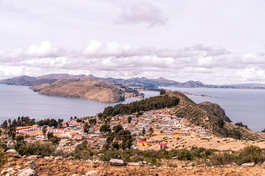 view on Yumani, Isla del Sol