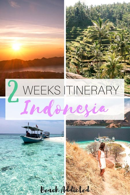 2 perfect weeks Indonesia itinerary #indonesia#2 weekindonesiaitinerary#indonesiatravel