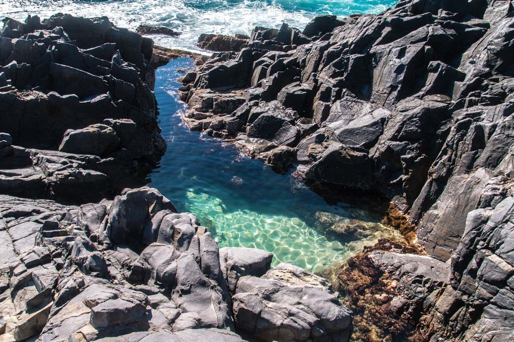 Fairy pools in Noosa National Park