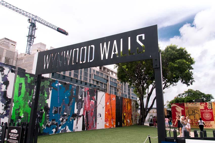 a sign of Wynwood walls