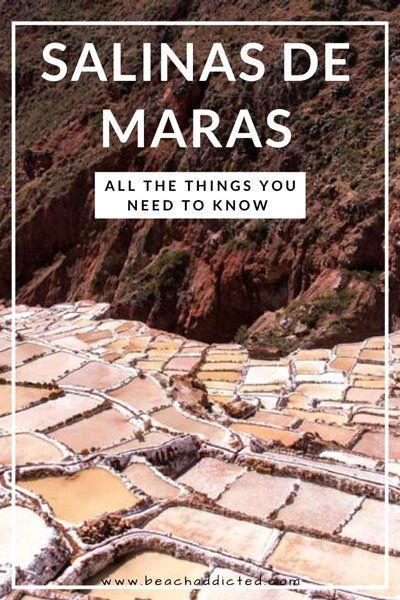 full guide to salt mines in Peru