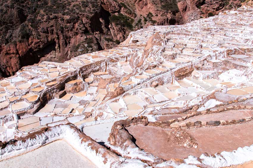 cascading salt pools of Salinares
