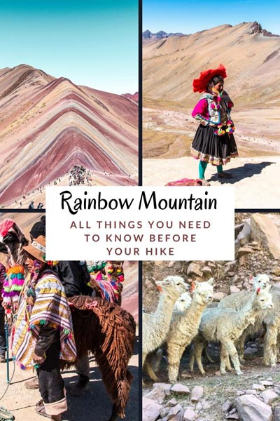 the full guide to Colourful Mountain in Peru