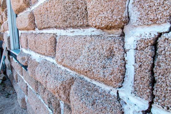 bricks made out of shells