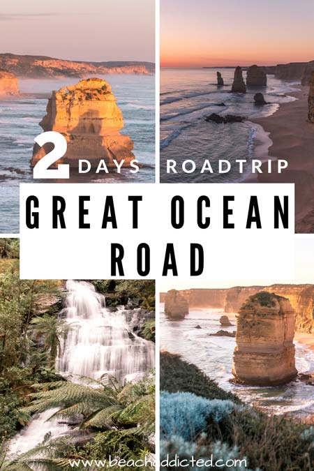 a full guide how to explore Great Ocean Road just in 2 days with all the best stops to see along the way.