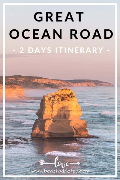 your full itinerary to the best things to see on the Great Ocean Road - selfdrive from Melbourne