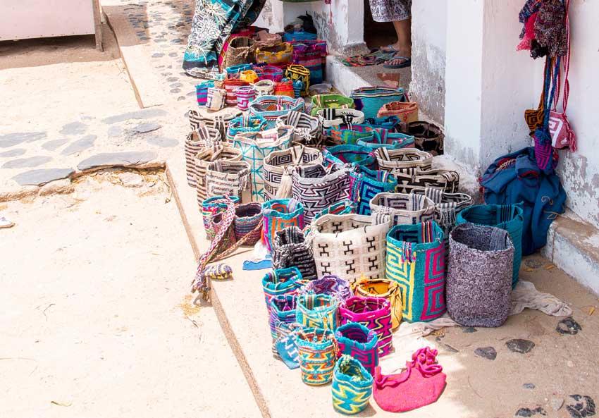authentic Wayuu bags found in Guajira region, Bolivia
