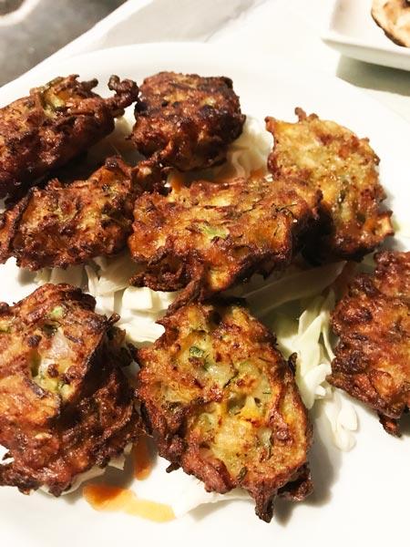 fried Zucchini Balls
