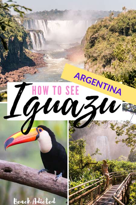 a full guide how to spend a perfect day in Iguazu falls in Argentina