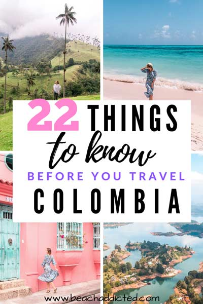 22 essential tips that will make your life easy when traveling in Colombia