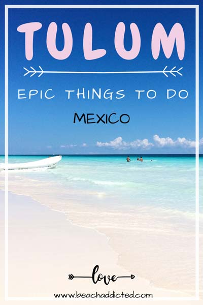 a full travel guide to the best things to do and see in Tulum