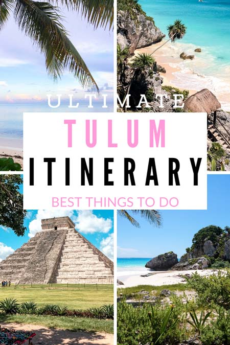 an ultimate guide to Tulum with best things to do and see