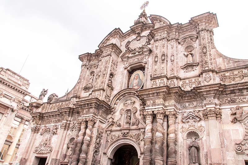 Baroque church, one of the best things to see in Quito and in Ecuador