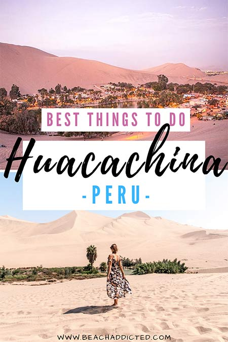 best things to do in Huacachina oasis