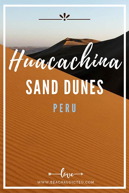 how to spend one till 3 days in Huacachina sand dunes in Peru