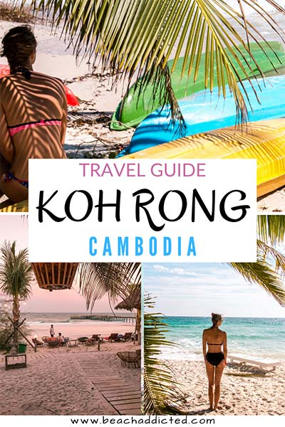 travel guide to Koh Rong in Cambodia with all things you need to know