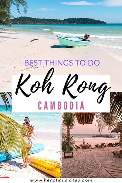 Best things to do on Koh Rong Island in Cambodia