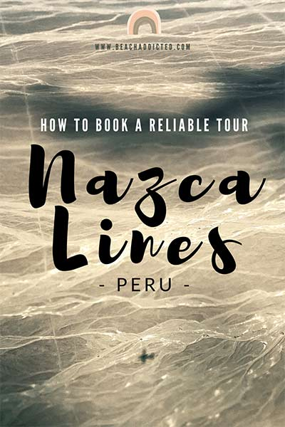 a full guide how to book a reliable flight over Nazca lines