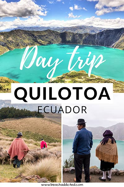 Find out how can you see Quilotoa lake on a day trip from Quito