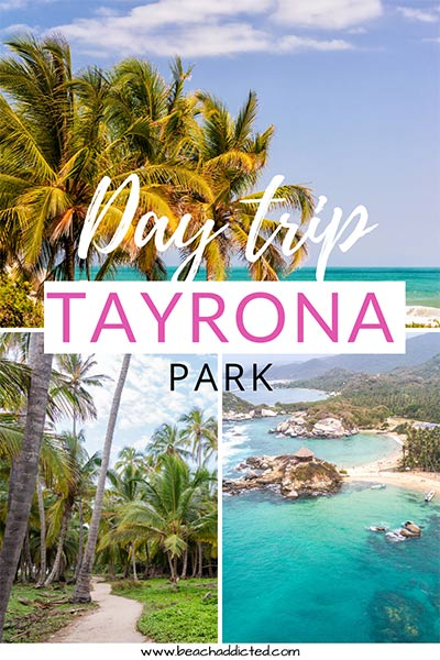 Tayrona National Park Hike How To Spend One Day In Tayrona With Map