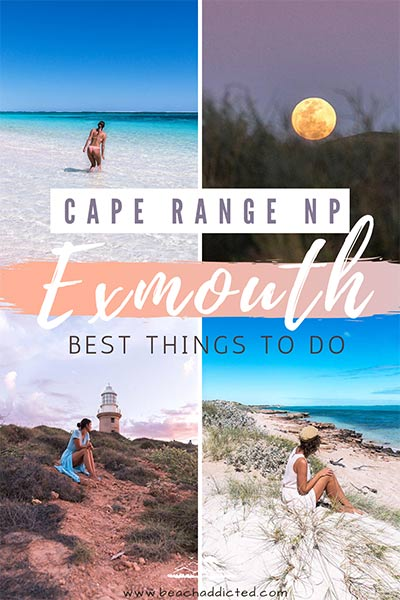 absolutely the most beautiful places in Exmouth, Western Australia