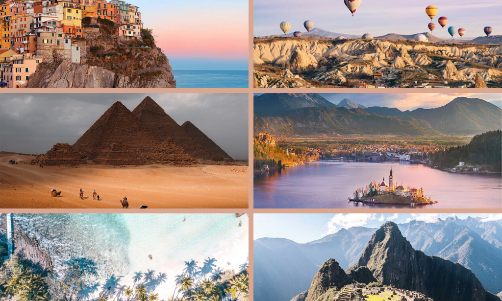 25 dreamy bucket list places that you need to see right NOW