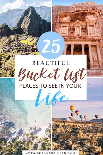 25 dreamy bucket list places