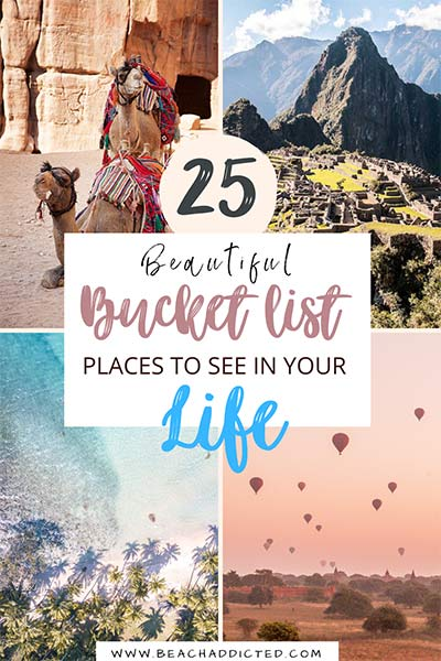 list of 25 truly dreamy bucket list places that you need to see in your life