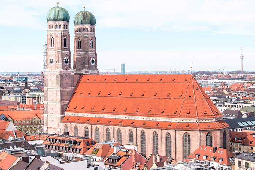 must-see in every 2 day itinerary of Munich: the Frauenkirche